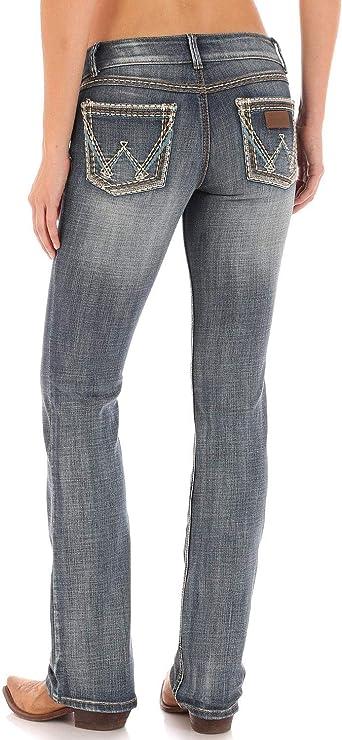 Amazon Com Wrangler Retro Sadie Pantalones Vaqueros Para Mujer Clothing