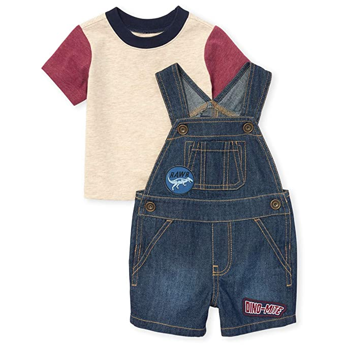 The Childrens Place Baby Boys Shortalls