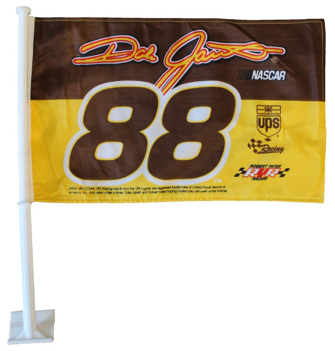 【新作からSALEアイテム等お得な商品満載】 Dale Jarrett Jarrett (ライトブラウン) Dale – B000EOFH1Y NASCAR Car Flag B000EOFH1Y, 八丈町:e1dd476a --- arianechie.dominiotemporario.com