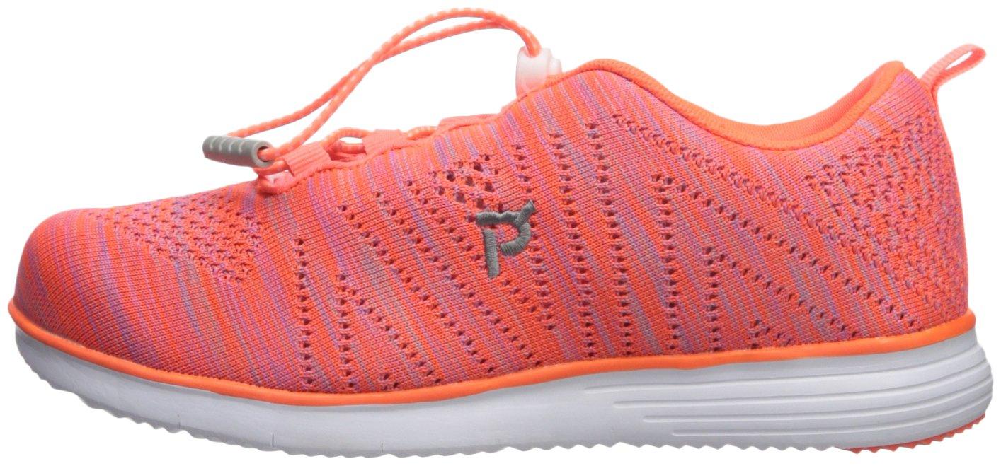 Propét Women's TravelFit Walking Shoe B01KNVIPPW 6 4E US|Orange/Pink