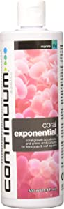 Continuum Aquatics Coral Exponential - Coral Growth Accelerator & Amino Acid Liquid Supplement for Marine Saltwater Reef Aquariums