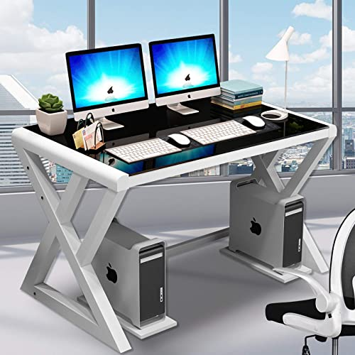 Tempered Glass Computer Desk