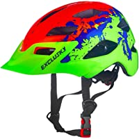 Exclusky Casco Bicicleta Niños Casco Infantil para BMX