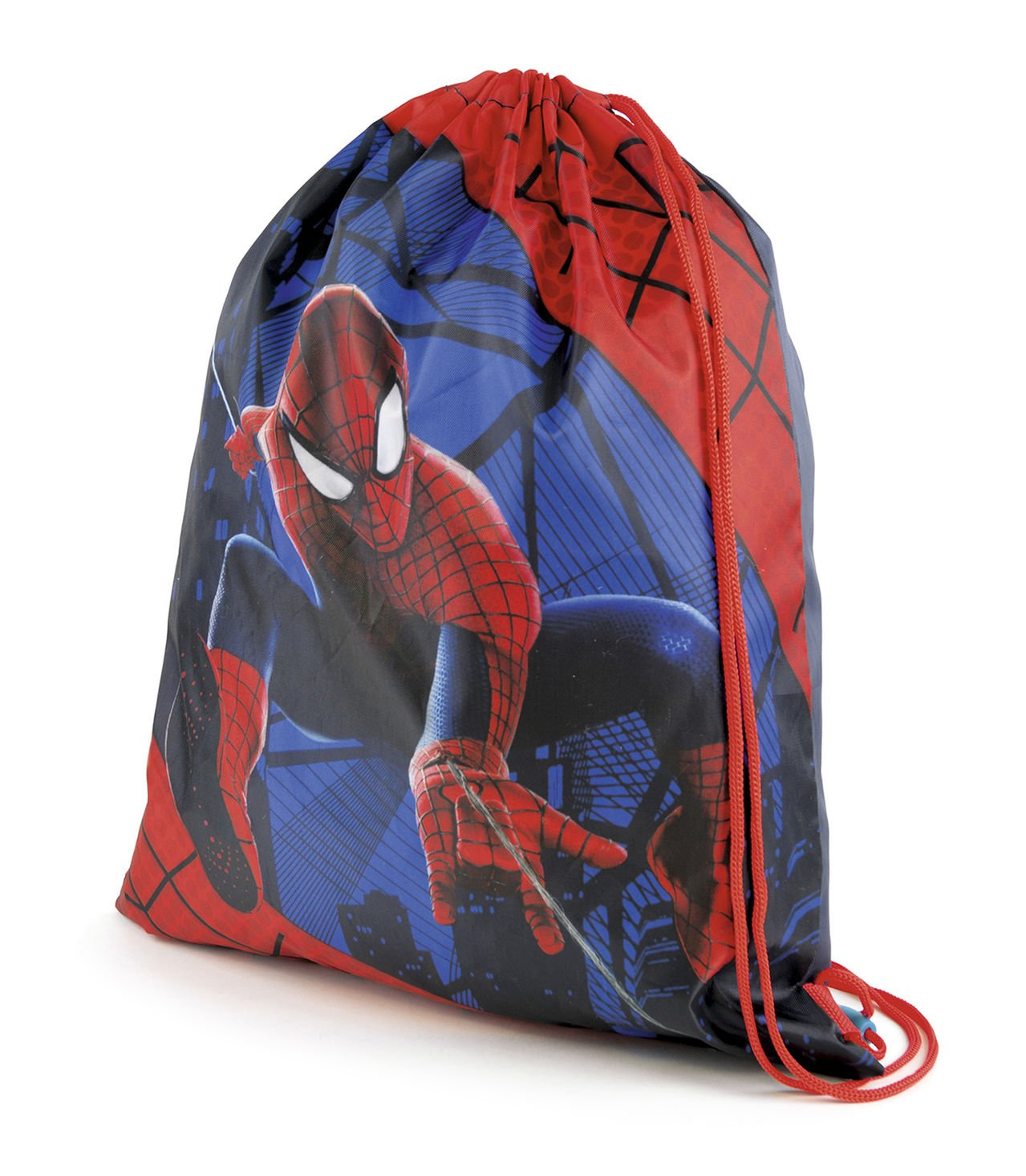 a2b06314db7a Kids Childrens Marvel Comics Avengers Spiderman Drawstring School Gym Swim  Shoe Bag  Amazon.co.uk  Luggage
