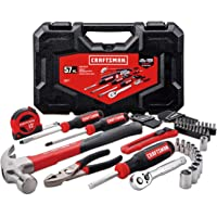 Deals on Craftsman 57-Piece Home Tool Kit / Mechanics Tools Kit