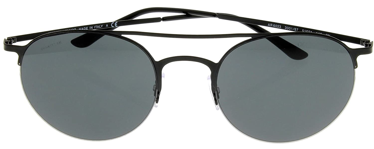 f3730f50bd21 Giorgio Armani Sunglasses Unisex Black Aviator AR 8039 502613  Amazon.ca   Clothing   Accessories