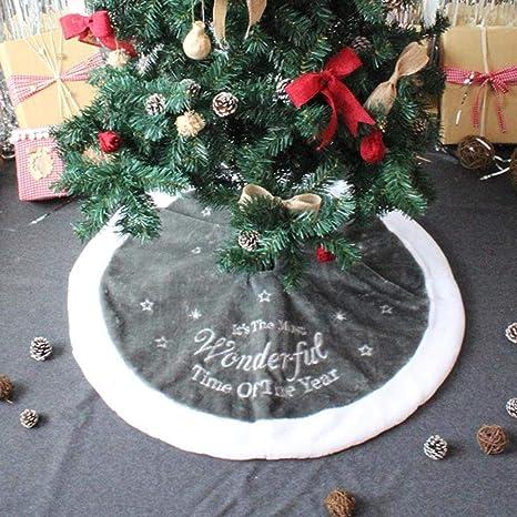 Christbaumdecke Weihnachtsdeko Weihnachtsbaum Rock Bodenmatte Tannenbaumdecke