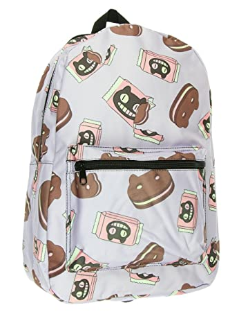 826cdd9bbe6 Amazon.com | Steven Universe Cookie Cat Backpack Purple | Backpacks