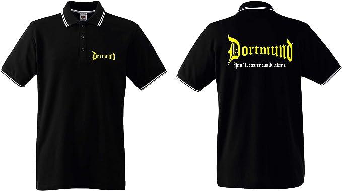 Dortmund Damen T-Shirt You`ll Never Walk Alone
