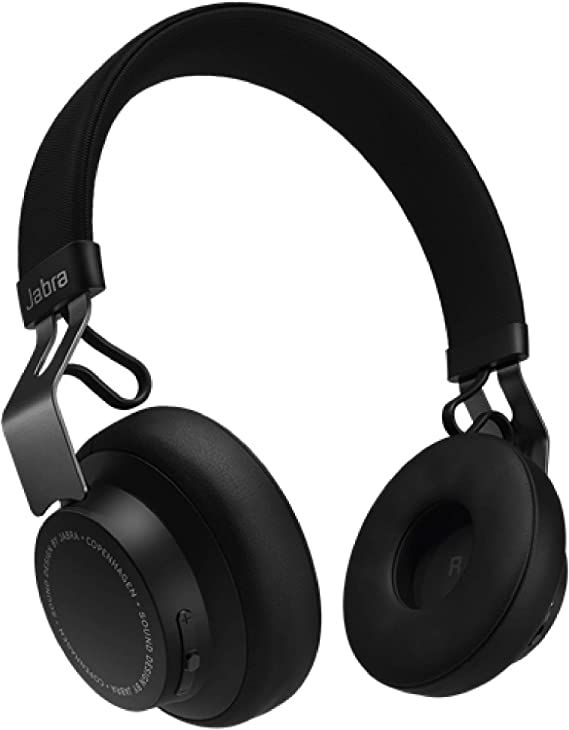 Amazon Com Jabra Move Style Edition Black Wireless Bluetooth Headphones With Superior Sounds Quality Long Battery Life Ultra Light And Comfortable Wireless Headphones 3 5 Mm Jack Connector Included