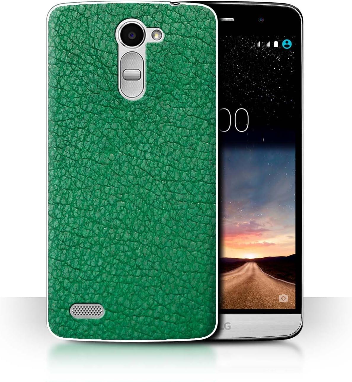 STUFF4 Phone Case/Cover/Skin/LG-CC Parche de Piel de/Efecto ...