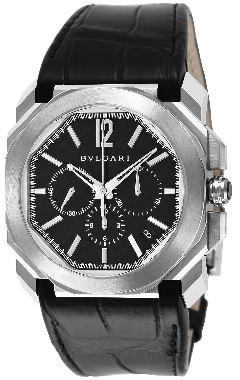 [ブルガリ]BVLGARI 腕時計 オクト ブラック文字盤 BGO41BSLDCH メンズ 【並行輸入品】 B00W35UFY6