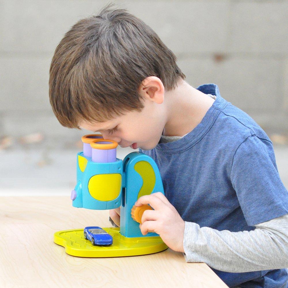 My First Microscope Stem Toy for Preschoolers Educational Insights Geosafari Jr