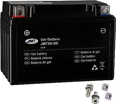 Ytx9 Bs Gel Batterie Für Vt 600 C Shadow Baujahr 1988 2000 Von Jmt Auto