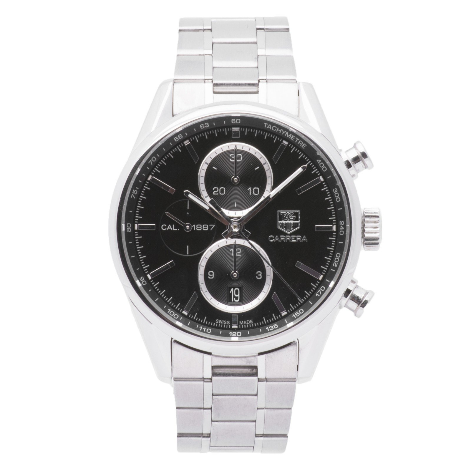 Tag Heuer Carrera automatic-self-wind mens Watch CAR2110.BA0724 (Certified Pre-owned)