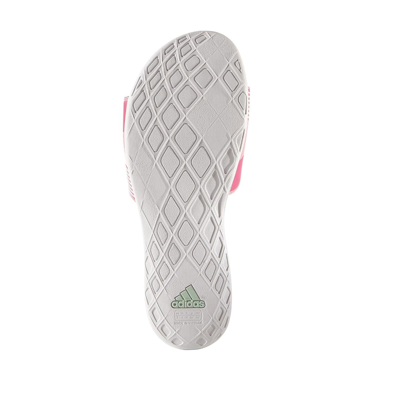 huge selection of e87ac 08db5 adidas Damen Dusch-  Badeschuhe 38 BlancoVerdeRosa Amazon.de Schuhe   Handtaschen