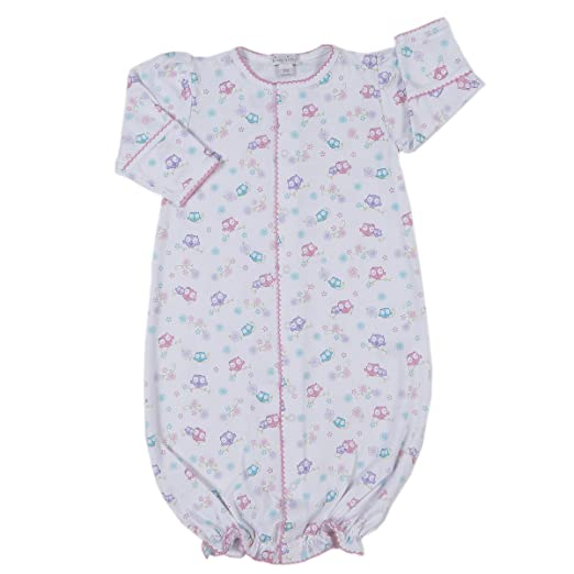 906ca43b9 Kissy Kissy Baby-Girls Infant What A Hoot Print Convertible  Gown-multicolored-Newborn