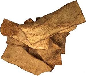 123 Treats Rawhide Chips with Smoked Flavor - Quality Beef Hide Dog Chews
