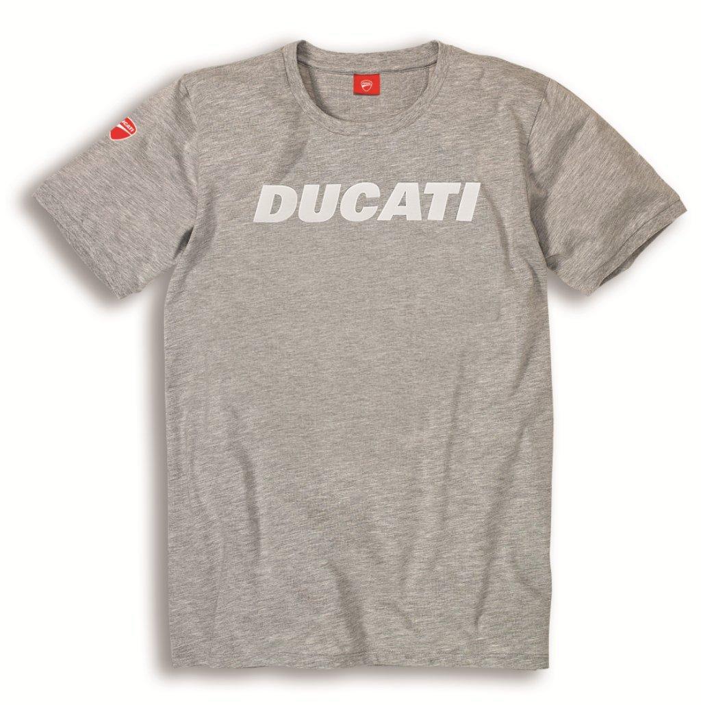 Ducati Ducatiana Basic Graphic Short Sleeve T-Shirt (MD, Gray)