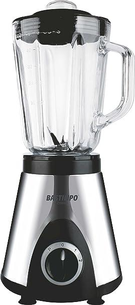 Bastilipo BVA-700-inox Batidora de Vaso, 700 W, 1.5 litros ...