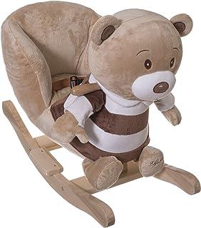 Schaukelspielzeug vidaXL Baby Schaukeltier Schaukelpferd Schaukel Tier Teddybear Spielzeug Kinder#