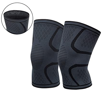 88349767c8 OFTEN Knee Brace Compression Sleeve Knee Support Braces (1 Pair) for  Meniscus Tear,