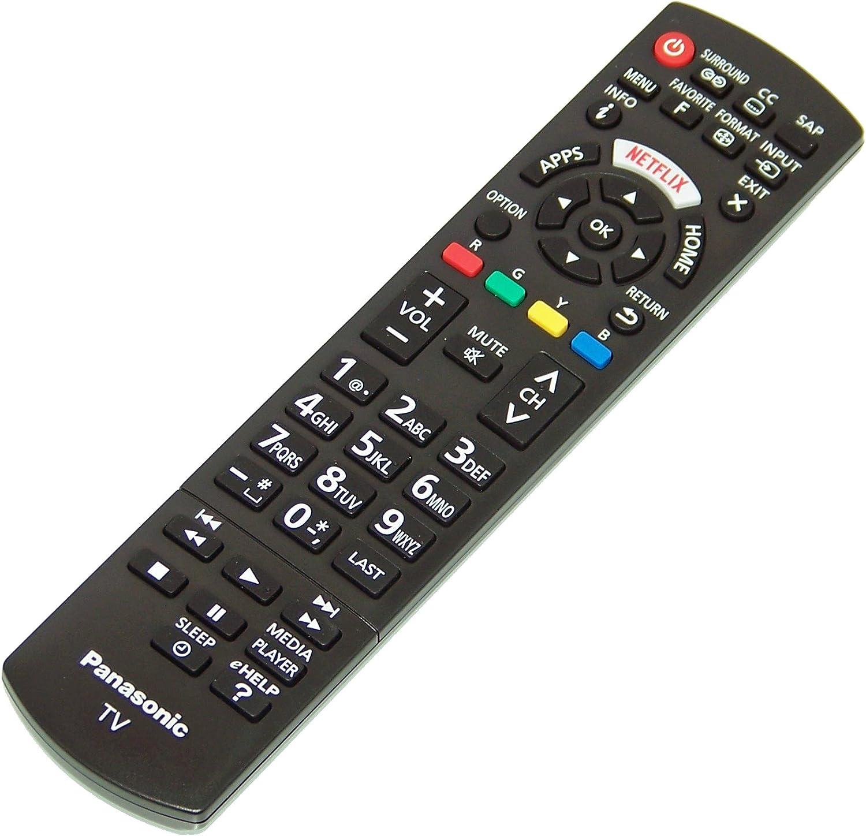 OEM Panasonic Remote Control Specifically for TCP50XT50 TC-P50XT50 TC-P60UT50 TCP60UT50