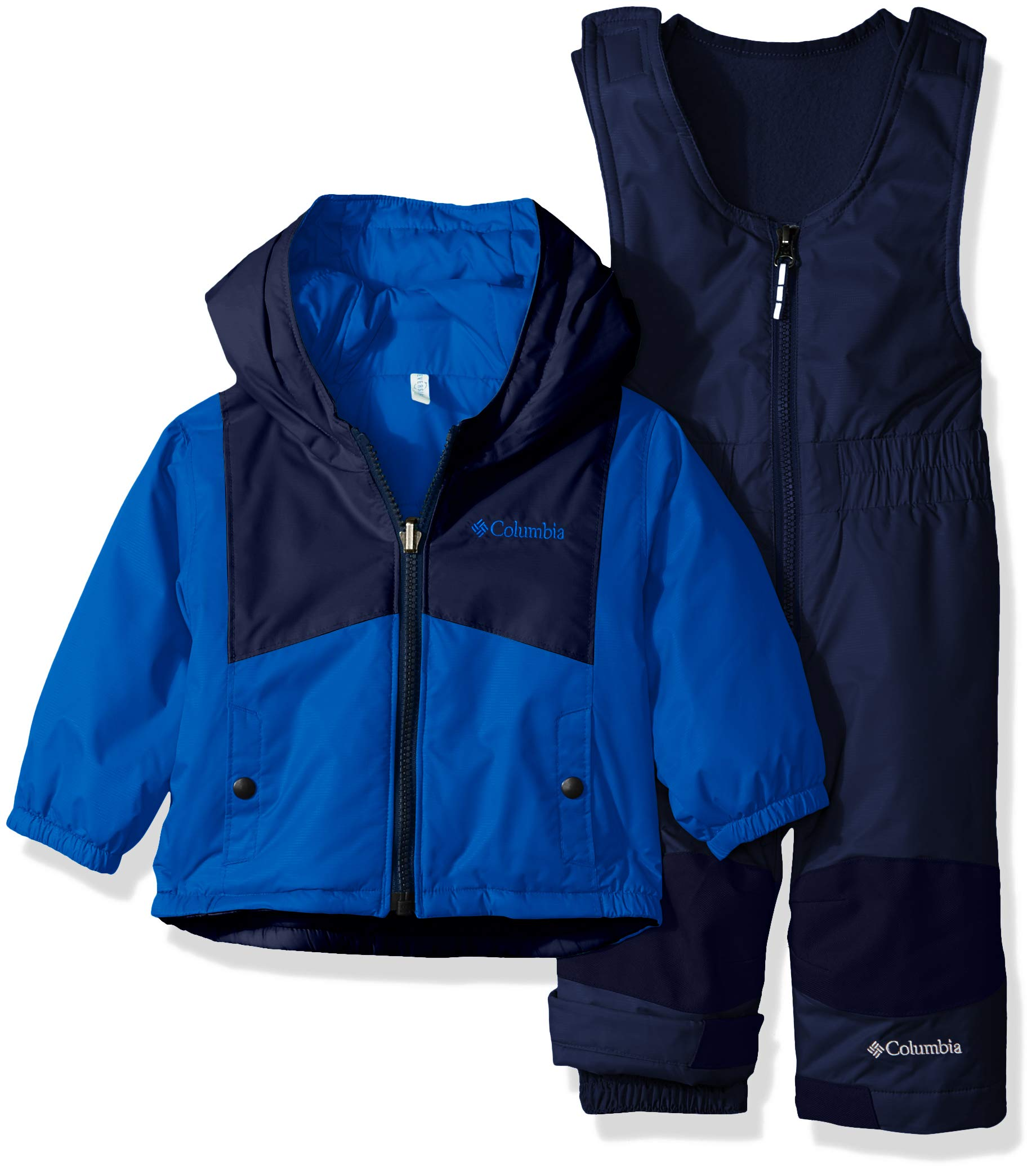 Columbia Youth Unisex Toddler Double Flake Set, Waterproof, Insulated