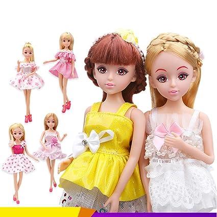 Amazon.com: Muñeca en miniatura de princesa dulce de la ...