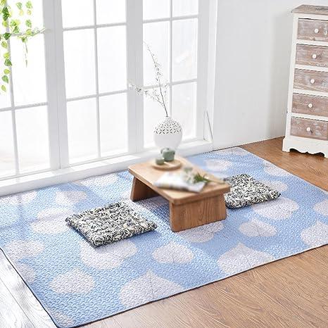 FUHOAHDD Alfombras de algodón, alfombras Antideslizantes ...