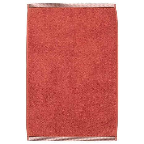 IKEA ASIA VIKFJARD - Alfombrilla de baño, Color Rojo