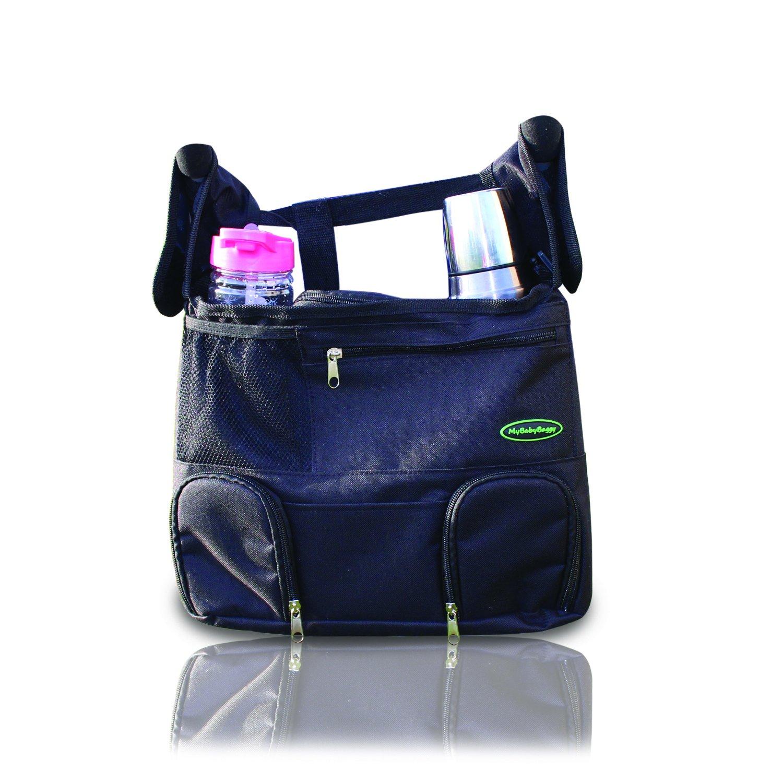Stroller Organizer Bag with Cup Holder, Insulated Pockets, Shoulder Strap MyLittleStuff BASE