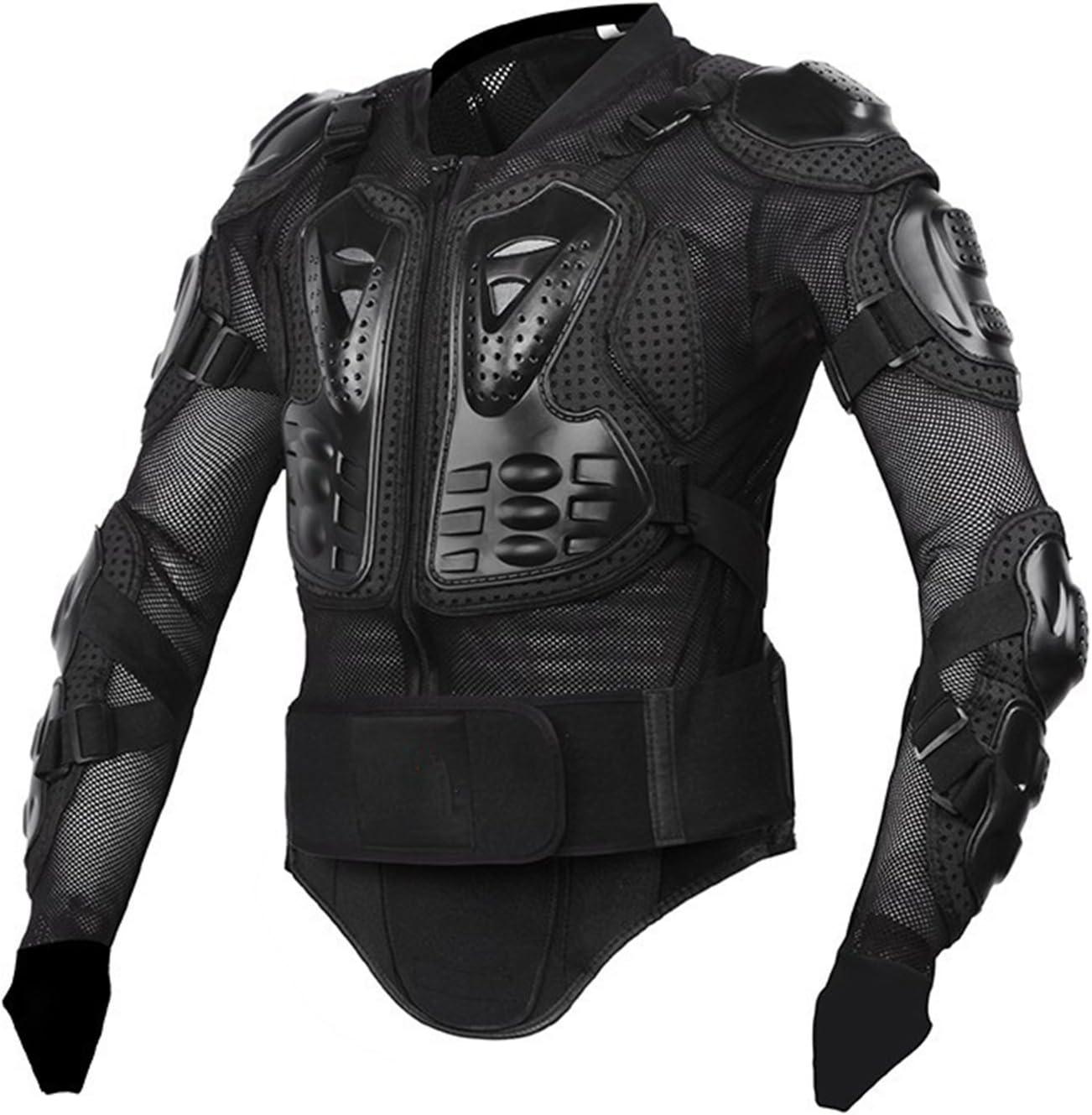 LKOUS Profesional Motocicleta Cuerpo protecci/ón Arashi Racing Full Body Armor Lomo Pecho/ /Chaqueta Protectora Gear M-XXXL