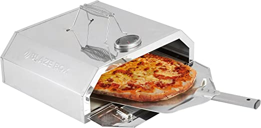 Blaze Box Bbq Pizza Oven With Temperature Gauge For Outdoor Garden Barbecues Gas Grills Pizza Oven With Paddle