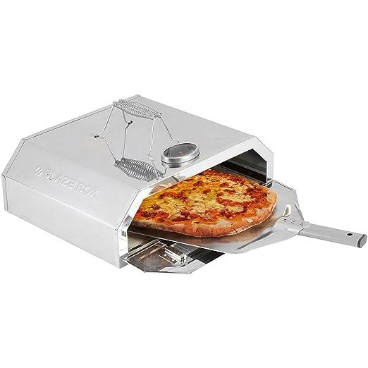 BLAZE BOX - Horno para Pizza BBQ con Indicador de Temperatura para ...