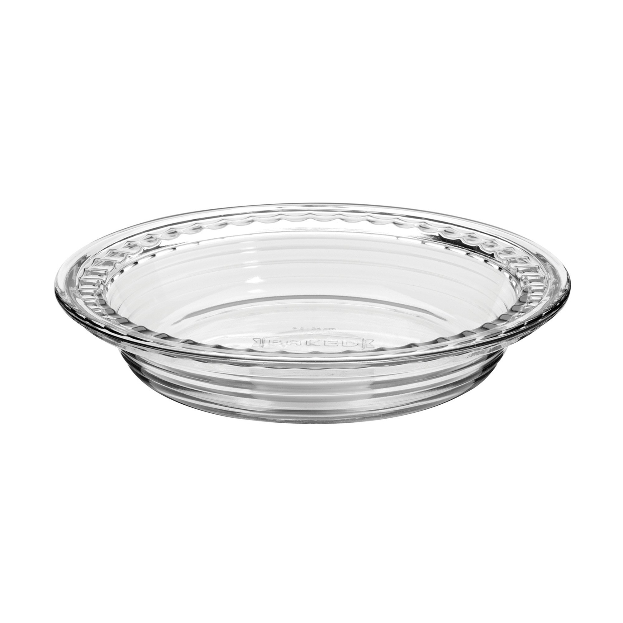 Anchor Hocking 79097 Baked by Fire-King Deep Pie Plate, 9.5-Inch, Glass