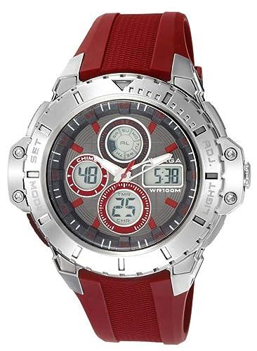 Radiant Reloj Cronógrafo para Hombre de Cuarzo con Correa en Caucho RA317602: Amazon.es: Relojes