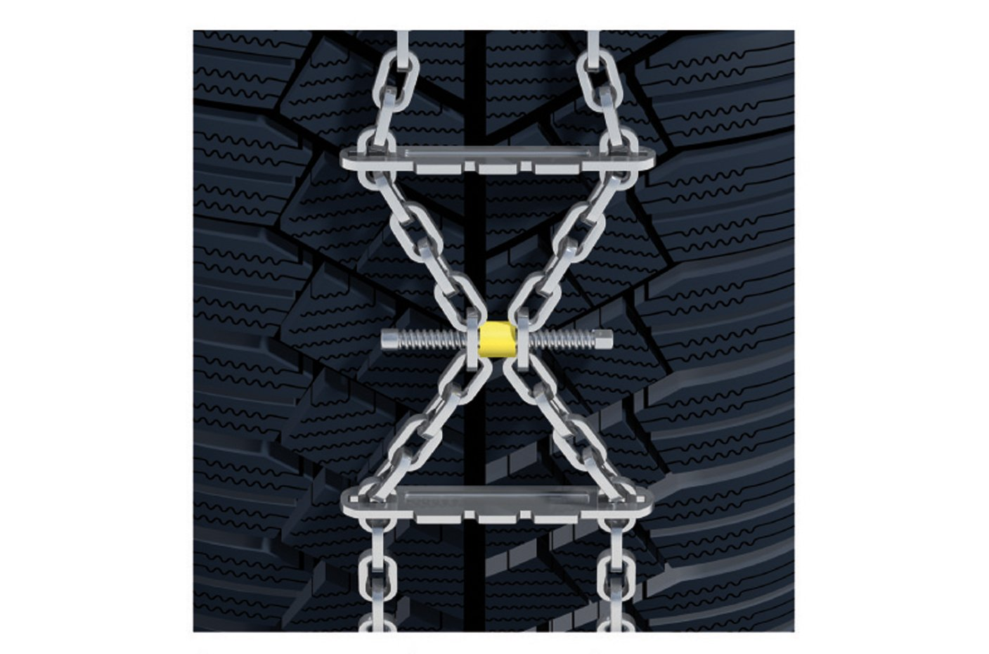 set of 2 K/ÖNIG K-SUMMIT XXL K77 Snow chains