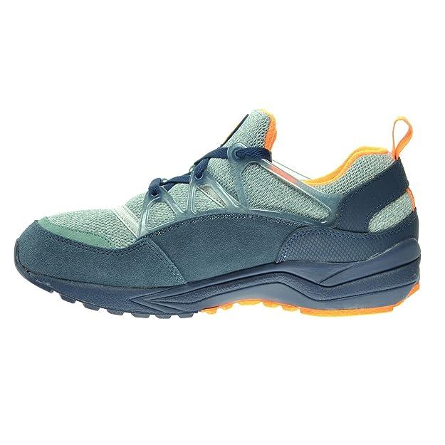 Amazon.com   Nike Air Huarache Light Men's Shoes Midnight Navy/Bright  Citrus-Squadron Blue 306127-402 (7 D(M) US)   Shoes