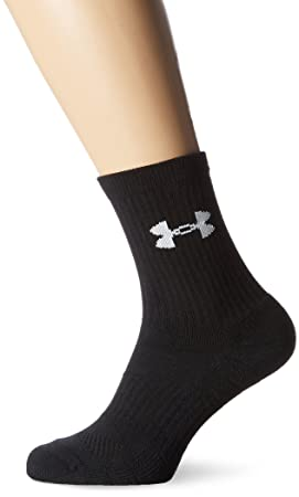 Under Armour UA Elevated Performance Crew Calcetines, Hombre, Negro, Medium: Amazon.es: Deportes y aire libre