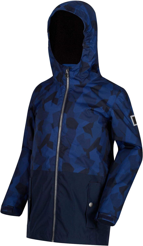 Regatta Kids Selwyn Waterproof Printed Hooded Insulated Jacket