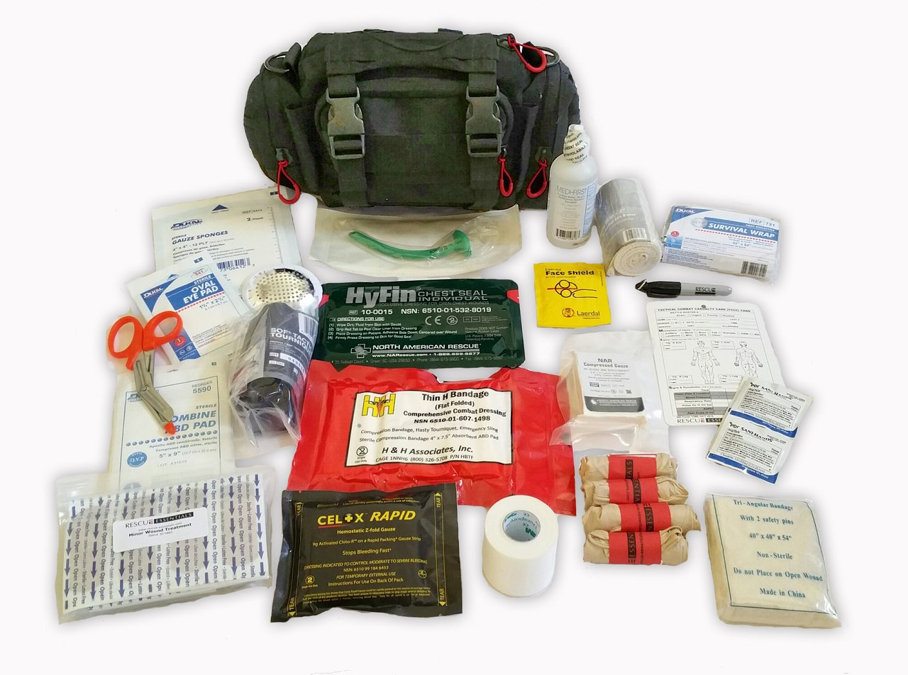 Outdoor Range Medical Kit - Tactical by Rescue Essentials by Rescue Essentials
