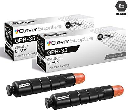 Genuine Canon  2785B003AA GPR-35 Toner Cartridge Black