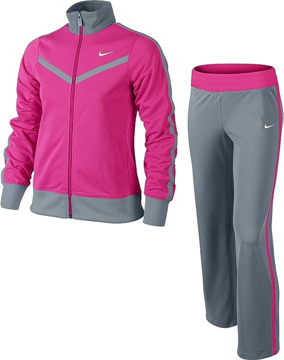 Nike T40 T Warm Up YTH - Chándal para niña, Color Rojo, Talla XL ...