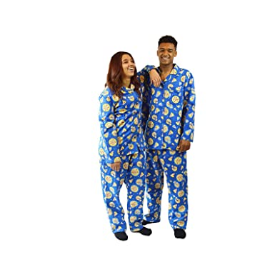 80f901637e The Snooze Shack Pizza Party Flannel Pajamas - 100% Cotton at Amazon Men s  Clothing store