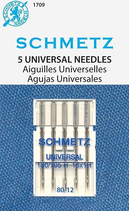 Jean /& Denim Machine Needles-Size 12//80 5//Pkg