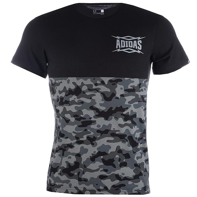 adidas - Camiseta - para Hombre Negro Negro X-Small: Amazon.es: Ropa y accesorios