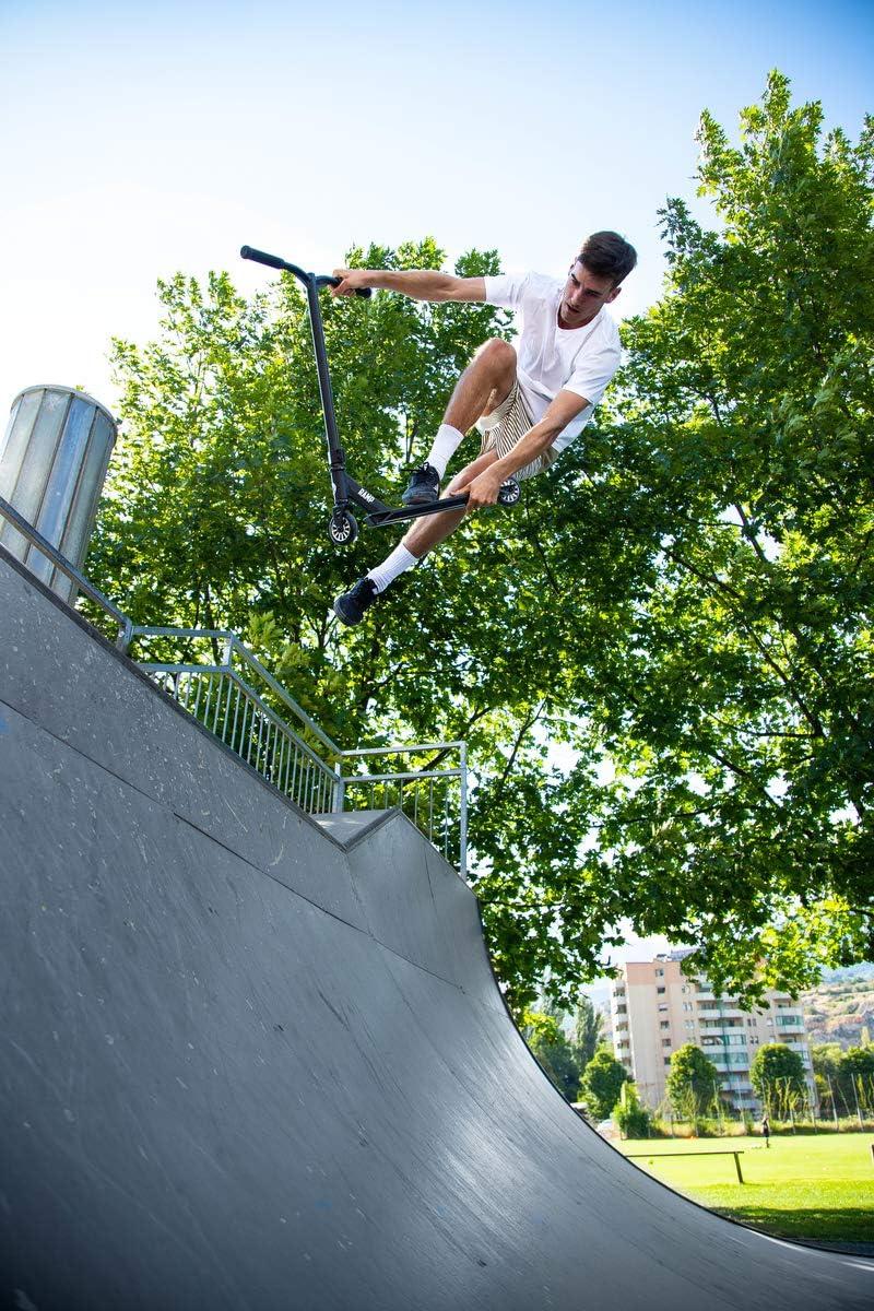 5-12 Jahre Micro Mx Ramp Stunt-Roller f/ür Anf/änger Violett