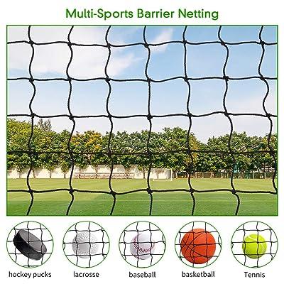 """30/' x 10/' Soccer Volleyball Net Barrier Netting 4/"""" #18"""
