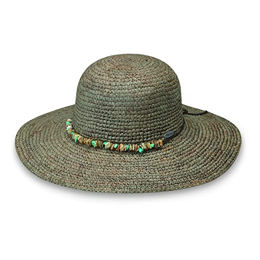 e62c1098c Wallaroo Hat Company Women's Sabrina Sun Hat - UPF 50+ - Adjustable Fit